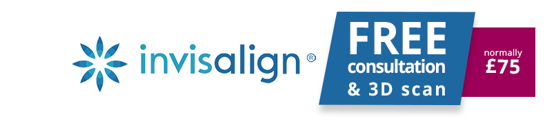 invisalign consultation and 3d scan banner