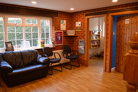 byways dental practice waiting area