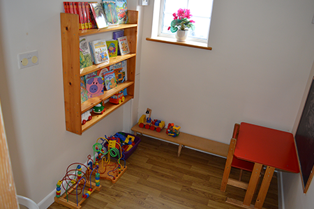 childrens room in a dental clinic