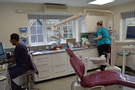 byways dental practice clinic with two dentists